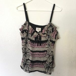 Milly of New York Tank Top Floral